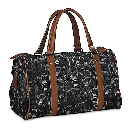 Constant Companion Black Labrador Lovers Handbag