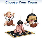 NFL Baby Ornament Collection - Born To Be An NFL Fan