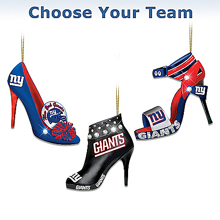 NFL Shoe Ornament Collection: Steppin' Out Stiletto