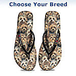 I Love My Dog Women's Flip Flops