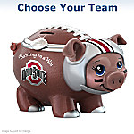 Banking On A Win Football Fan Piggy Bank