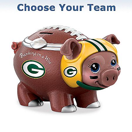NFL Football Piggy Bank: Banking On A Win