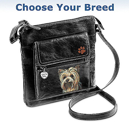 I Love My Dog Crossbody Bag