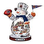 NFL Figurine - Crystal Snowman