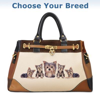 Fashion's Best Friend Dog Theme Satchel Handbag