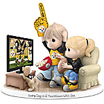 Figurine - Precious Moments Every Day Is A Touchdown With You Figurine