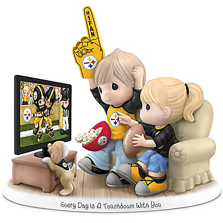 Precious Moments Every Day Is A Touchdown With You Figurine