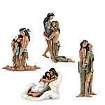 Lee Bogle Inspired Artwork Couple Figurine