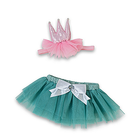 Birthday Princess Baby Doll Accessory Set: Choose Your Size