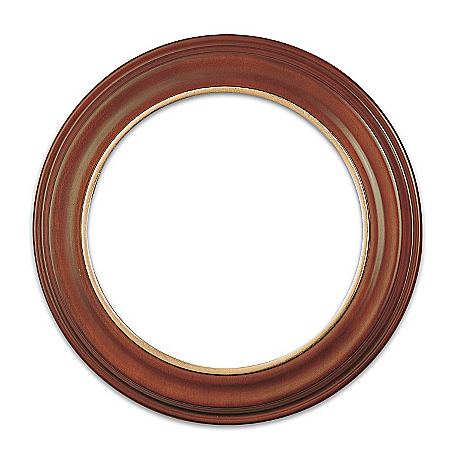 Richfield Hardwood Collector Plate Frame by The Bradford Exchange Online - Lovely Exchange