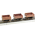 Wood Side-Dump Cars Train Accessory
