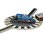 Hawthorne Railways Motorized Turntable Train Accessory By Bachmann