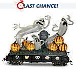 The Nightmare Before Christmas Train Car: Haunting Ghosts