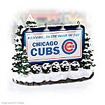 Chicago Cubs Billboard Village Accessory