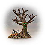 Haunted Tree Halloween Village Accessory