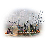 The Munsters Halloween Gate Village Accessory Set