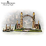 Thomas Kinkade Seaside Village Gate Accessory Set