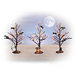 Forest Of Fright Halloween Village Accessory Set
