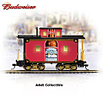 Budweiser Holiday Express Train Accessory: The Classic Style Caboose