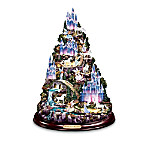 Mimi Jobe Enchanted Mountain Illuminated Tabletop Sculpture: Unique Fantasy Home Decor