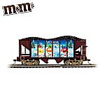 M&MS Express Hopper Car HO-Scale Train Car