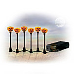 Ghoulish Glow Halloween Village Accessory Light Set