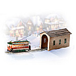 Light-Up 30-Scale Holiday Street Car Accessory Set