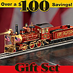 Firefighters Heroes Express Train Gift Set