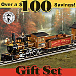 End Of A Perfect Day Express: Collectible Thomas Kinkade Train Set