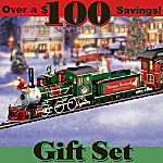 Norman Rockwell Holiday Express: Collectible Electric Train Set
