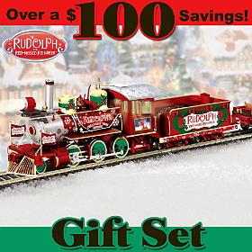 Rudolph's Christmas Town Express Train Set
