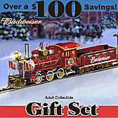 Budweiser Holiday Express Train Set