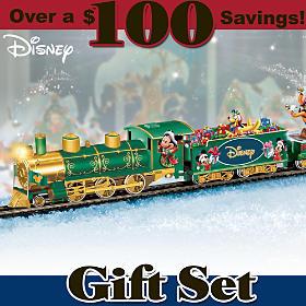 Disney Holiday Celebration Express Train Set