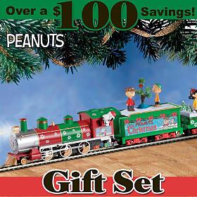 The PEANUTS Christmas Express Train Set