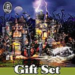 Village Set: Universal Studios Monsters Halloween Village Set