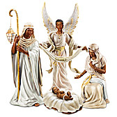 King Of Peace Nativity Figurine Set