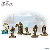 Pirates Of The Caribbean Figurine Set