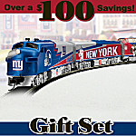 New York Giants Express Train Gift Set