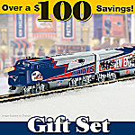 New England Patriots Express Train Gift Set