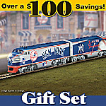 New York Yankees Express Train Gift Set
