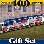 Boston Red Sox Express Train Gift Set
