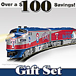 MLB Texas Rangers Express Electric Train Set