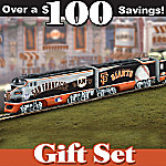 San Francisco Giants Express HO-Gauge Train Set