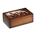 Pride Of The South Vintage Wood Storage Box Train Accessory