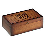 NFL Vintage Wood Storage Box Train Accessory