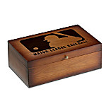 MLB Vintage Wood Storage Box Train Accessory