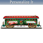 2017 Personalized Holiday Train Car