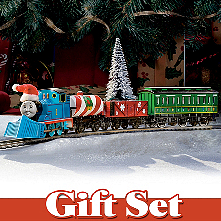 """Thomas Holiday Special"" Deluxe 22-Piece Train Set"