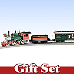 Bachmann Santa's Express On30-Scale Electric Train Set