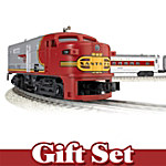 Santa Fe Flyer O-Scale Train Set